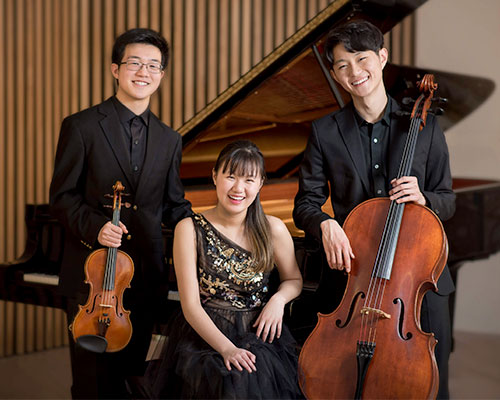 The Bach Trio portrait